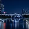 City at night.