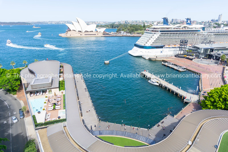 Sydney harbour and surrounds.