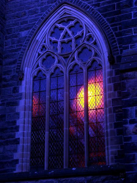Melbourne Scots Church - Blue Hour