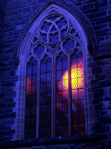 Melbourne Scots Church - Blue Hour
