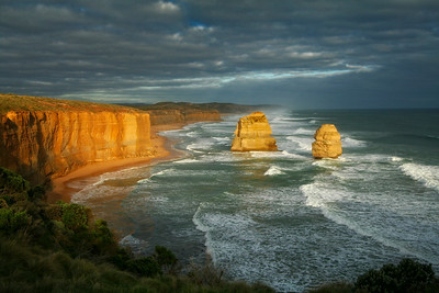 Gibson's Steps Beach area, 12 Apostles, Great Ocean Road, Australia