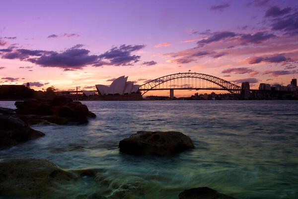 AUS-Opera House and Harbour Bridge-G7999
