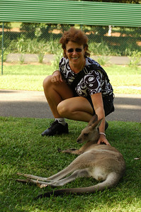 Jody with Roo
