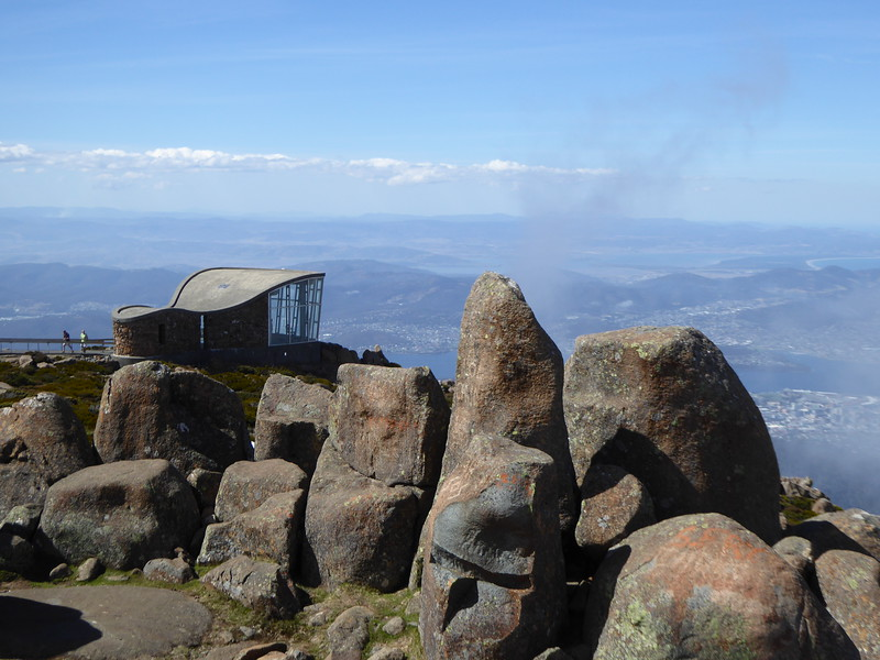 Top of Mt Wellington