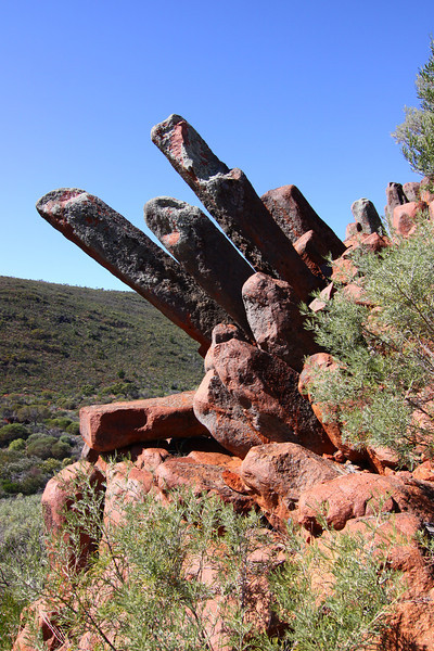 Organ Pipes of the Gawler Ranges