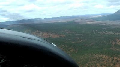 Wilpena Pound flight - back to base