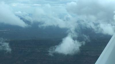 Wilpena Pound flight approach