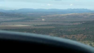 Wilpena Pound flight - runway