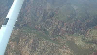 Wilpena Pound flight - environs