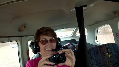 Wilpena Pound flight - flight attendant Definitely not Air Canada!