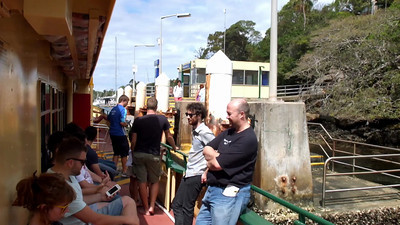 Sydney Ferries 4 Stopping at OId Cremorne