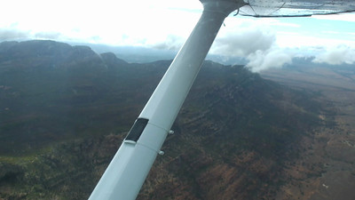 Wilpena Pound flight - the ring