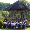 School children outside temple near Ubud