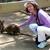 Jeane and kangaroos