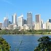 Sydney skyline from Botanic Garden