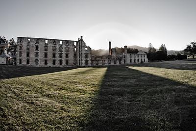 Granary/Penitentiary. Port Arthur, Tasmania.