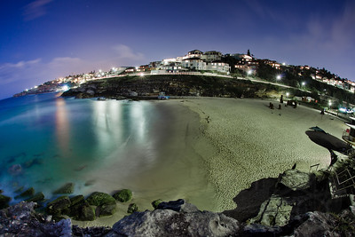 Tamarama Beach at Night. Sydney, Australia.