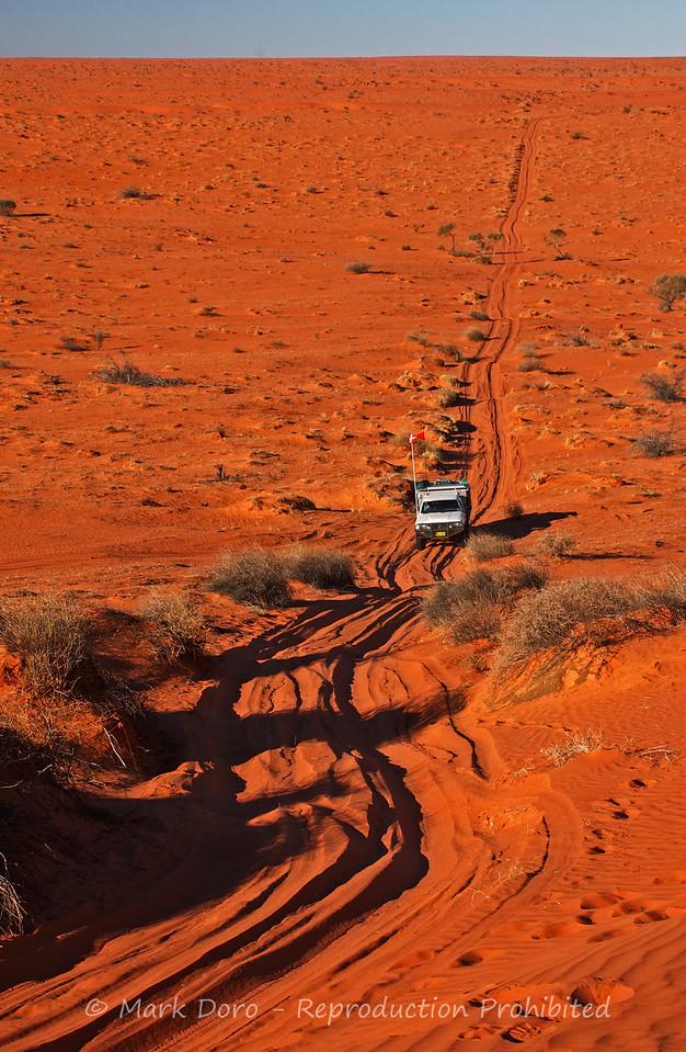 Crossing the French Line, Simpson Desert, Australia