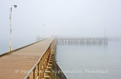 Fog over the Pier at St Leonards, Victoria