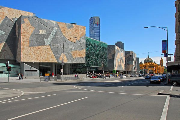 New and Old on Flinders Street