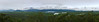 Hinchinbrook Island<br /> <br /> This is a stitch of 4 shots of Hinchinbrook Island and Channel, as seen from the Great Green Way (Highway #1 between Cairns and Townsville, Australia).