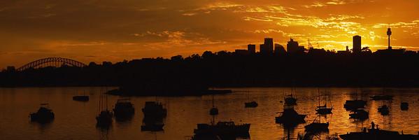 Sunrise on Sydney