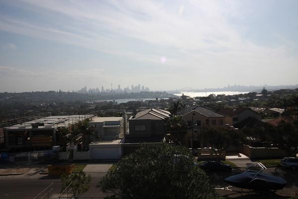 Sydney au loin