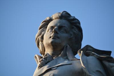 Mozart - Closeup