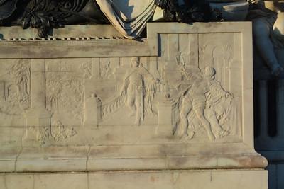 Mozart - Opera Scenes at base of statue