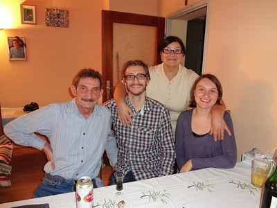 Vali, Len, Anna, Michaela
