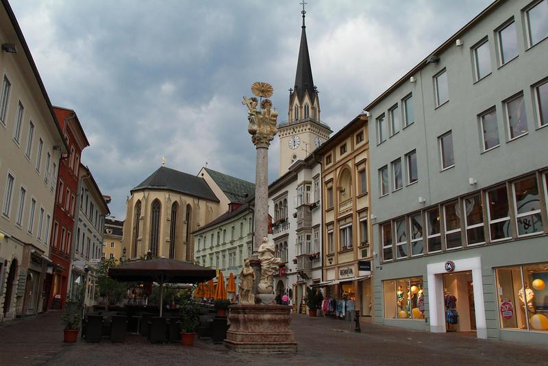 Downtown, Villach, Austria.