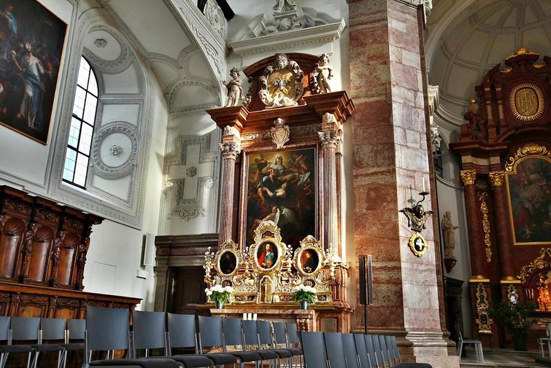 University Church, Innsbruck.