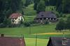 Houses in rural Austria.