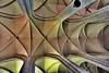 Vaulted ceiling of the Minoritenkirche (church) in Vienna.