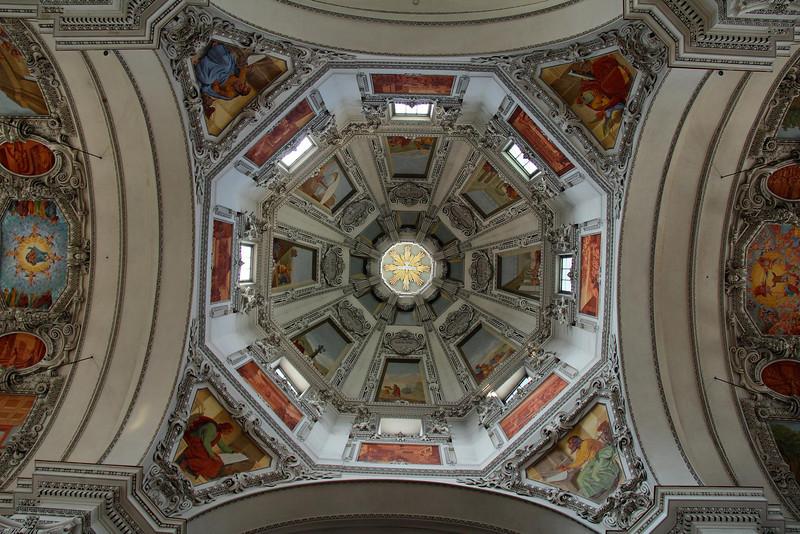 Dome of Salzburg Cathedral, Salzburg.