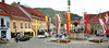 Town square in the small town Friesach, Austria, (pronounced FREE' ZOCK) where we took a short break that allowed some fast, but productive, local photography.