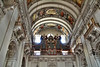 Decorative organ in Salzburg Cathedral, Salzburg, Austria.