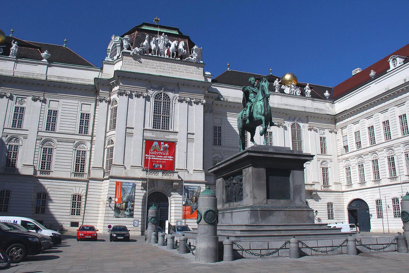 The Prunksaal, the National Library of Austria. The interior is every bit as ornate as the glorious nearby churches, but access is more limited.