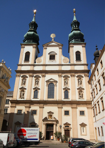 Jesuit Church, Vienna.