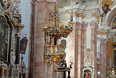 St. James Cathedral, Innsbruck, Austria.