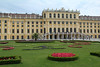 Schoenbrunn Palace in Vienna, one of two in Vienna for the ruling Hapsburg family, who ruled most of Europe for many decades. This residence was once considered out of town but now it is like a suburb in proximity.