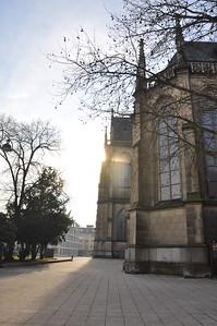 Mariendom, Linz Austria. 1.15 Austria's largest cathedral