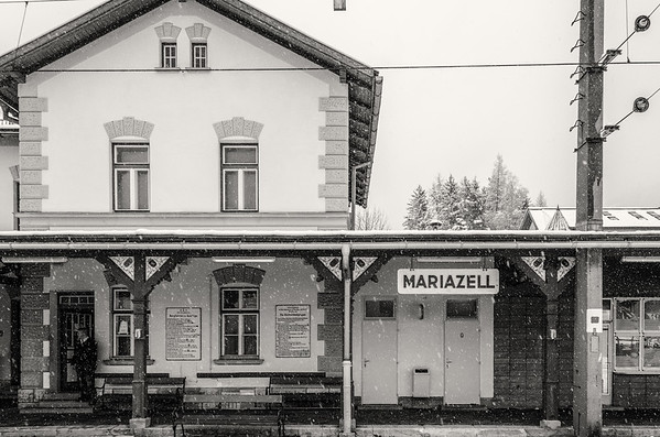 Trainstation in Mariazell
