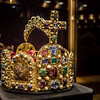 Hofburg (Imperial Castle): Treasure Chamber, Crown of Karl The Great