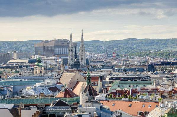 St. Stephens Cathedral: View