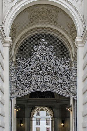 Entrance of the Hofburg (Imperial Castle)