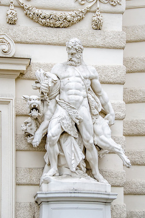 Statue at the Entrance of the Hofburg (Imperial Castle)