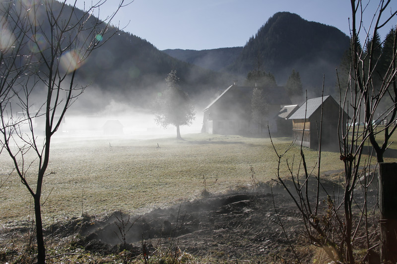 Morgennebel im Tiroler Unterland