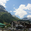 The town of Lech, Austria