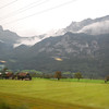 Scenes from the train ride from Luzern to Salzburg.